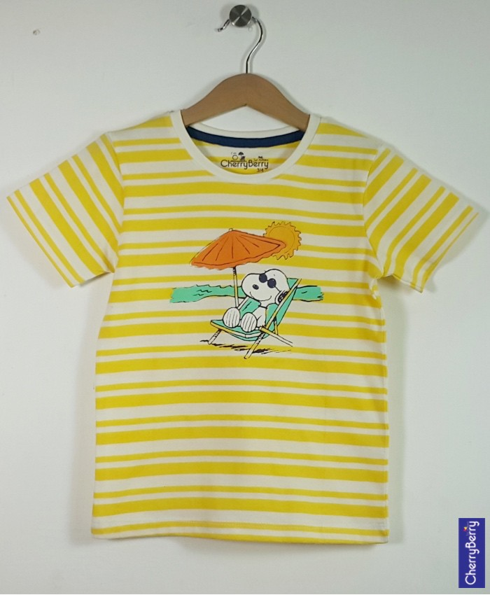 Baby boys printed T-shirt (S16B50)