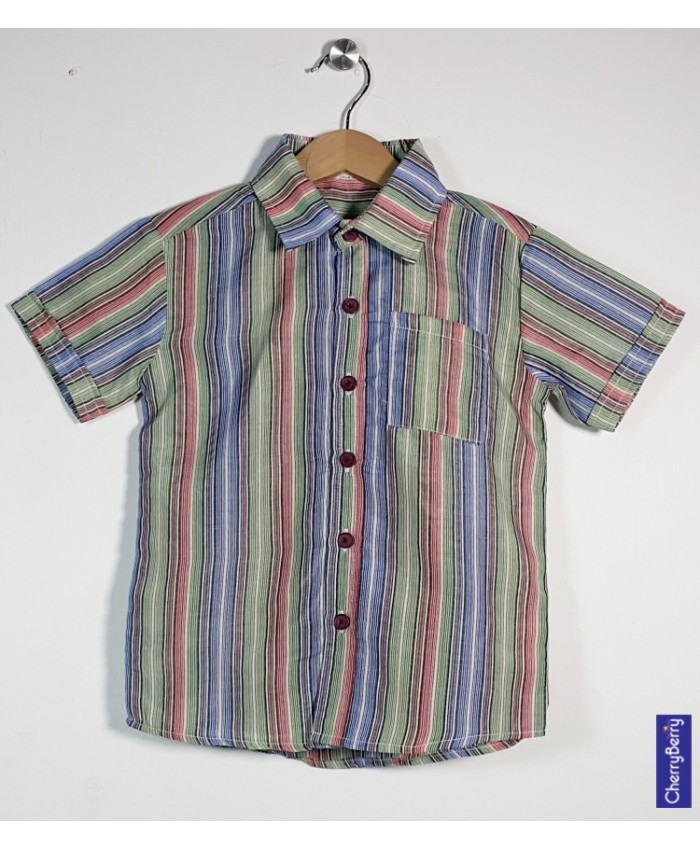 Boys Cotton Shirt (S16S06)