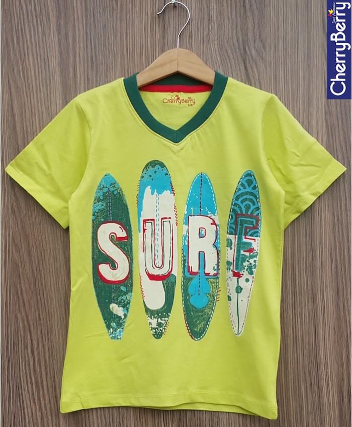 Baby boys surf T-shirt