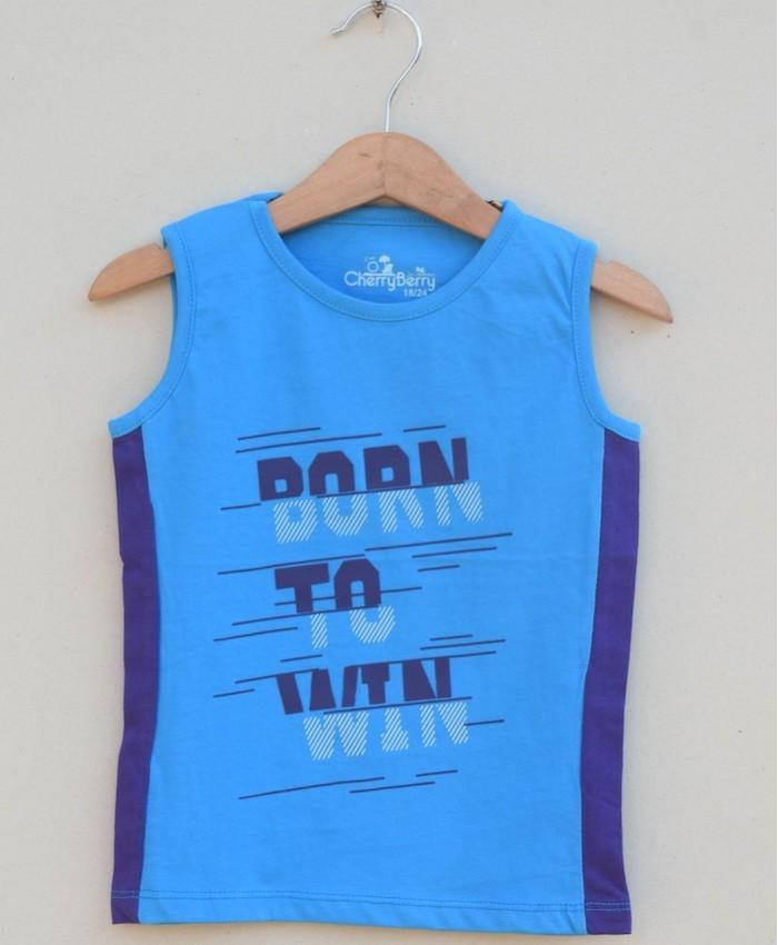 Boys printed T-shirt (S18B73)