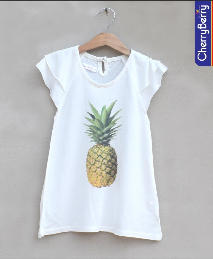 Girls Printed T-shirt (S18G34)