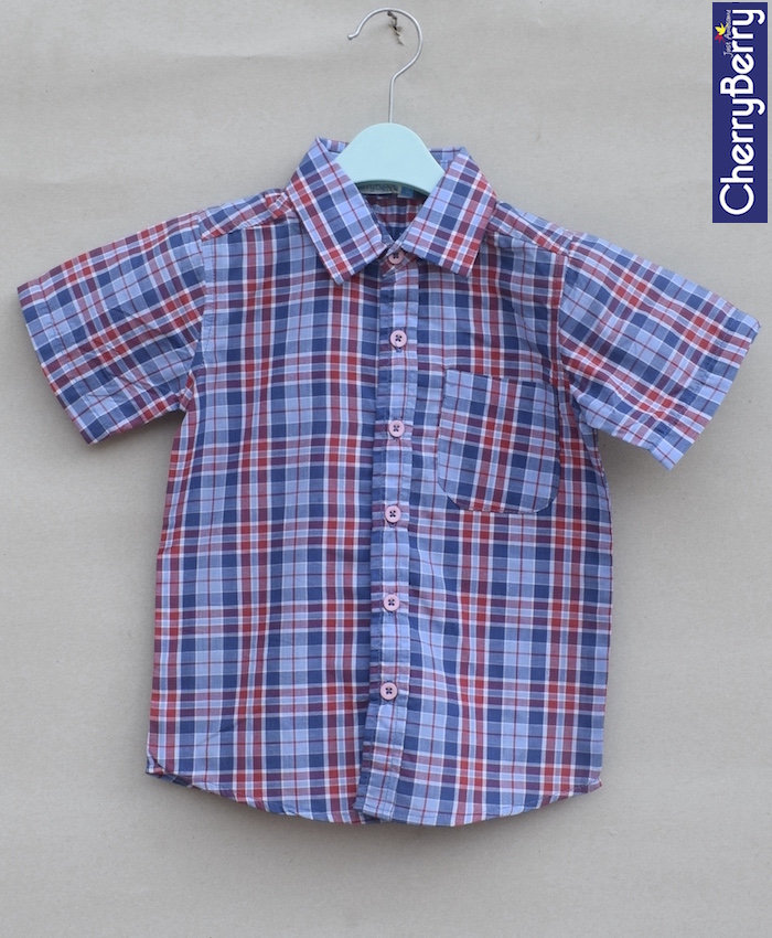 Boys Cotton Shirt (S18S22)