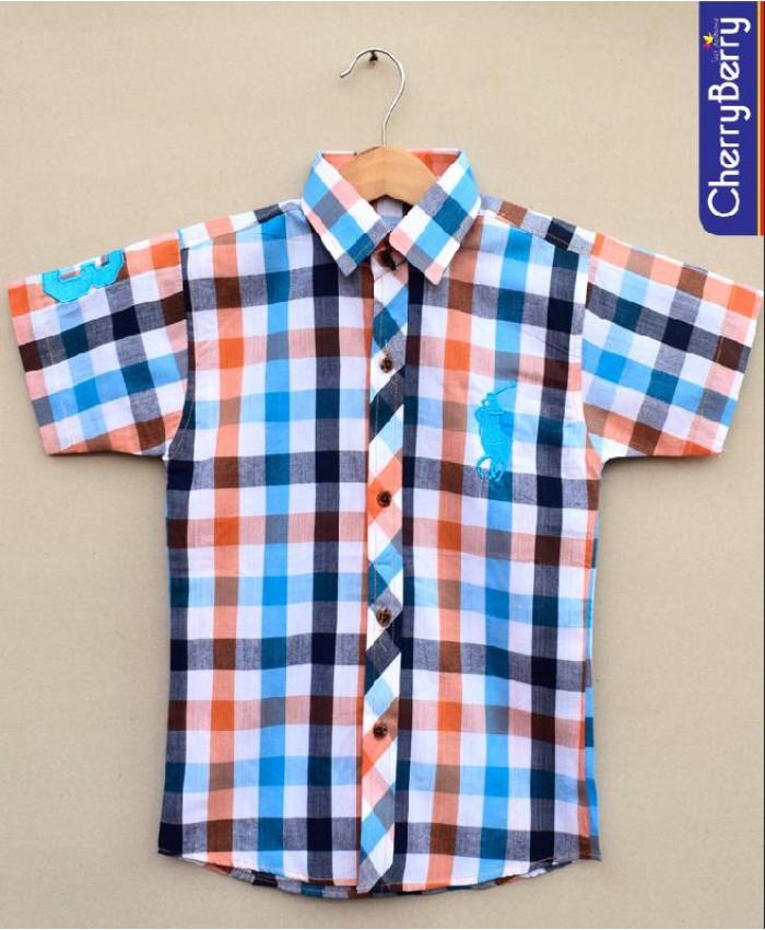 Boys Cotton Shirt (S18S33)