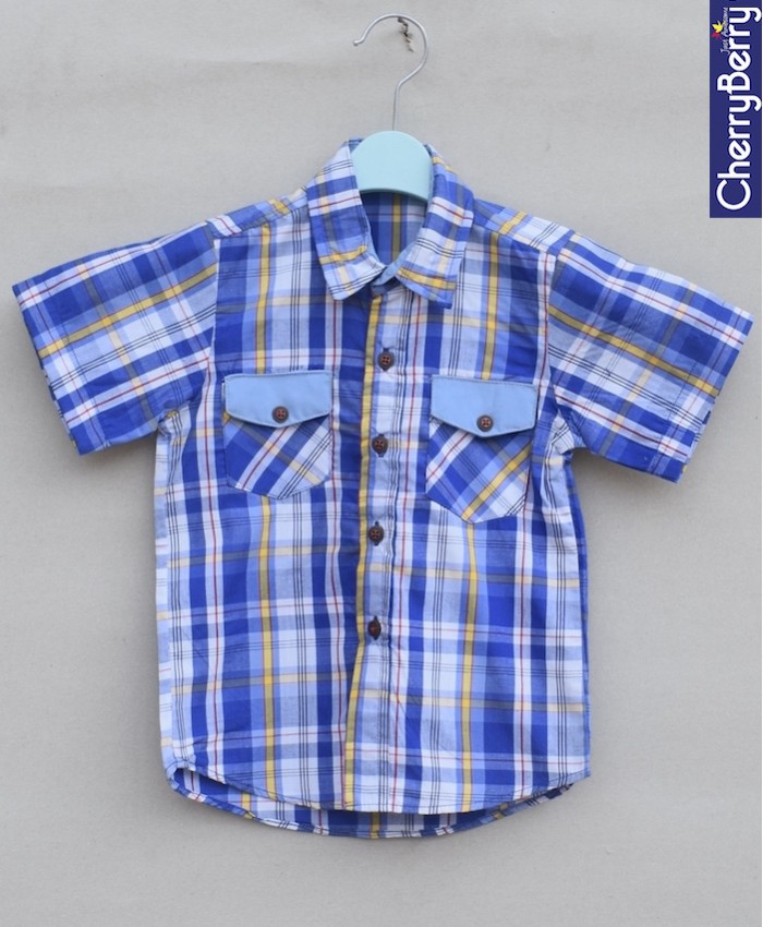 Boys Cotton Shirt (S18S18)