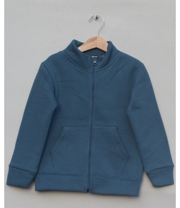 Fleece Zipper Jacket (W18B71)