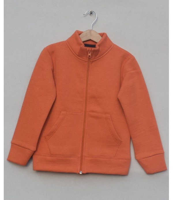 Fleece Zipper Jacket (W18B73)