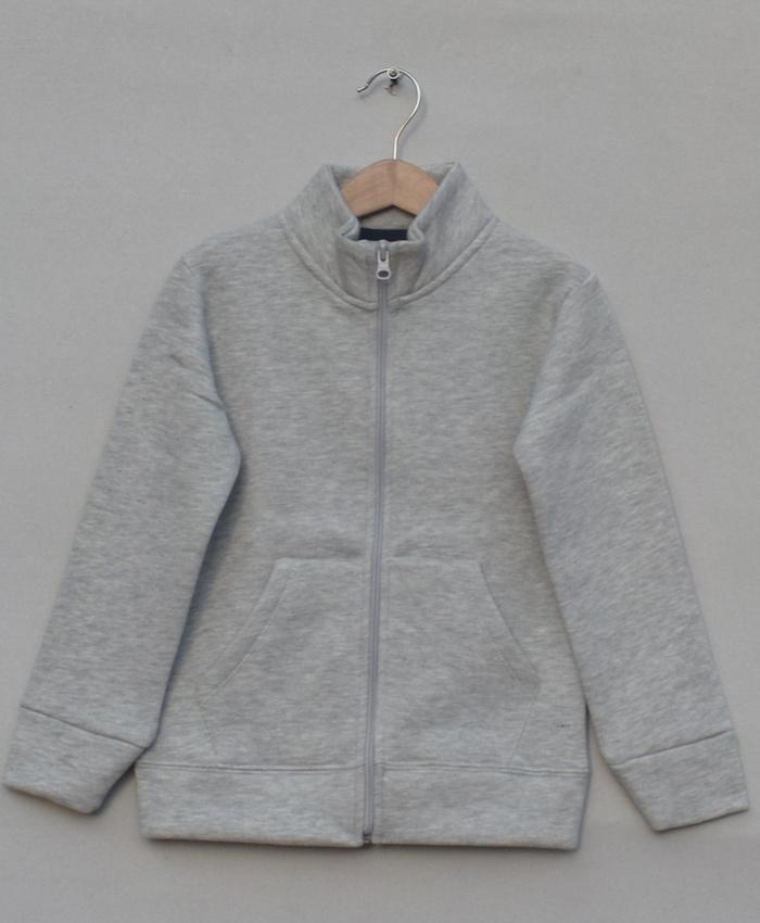Fleece Zipper Jacket (W18B72)
