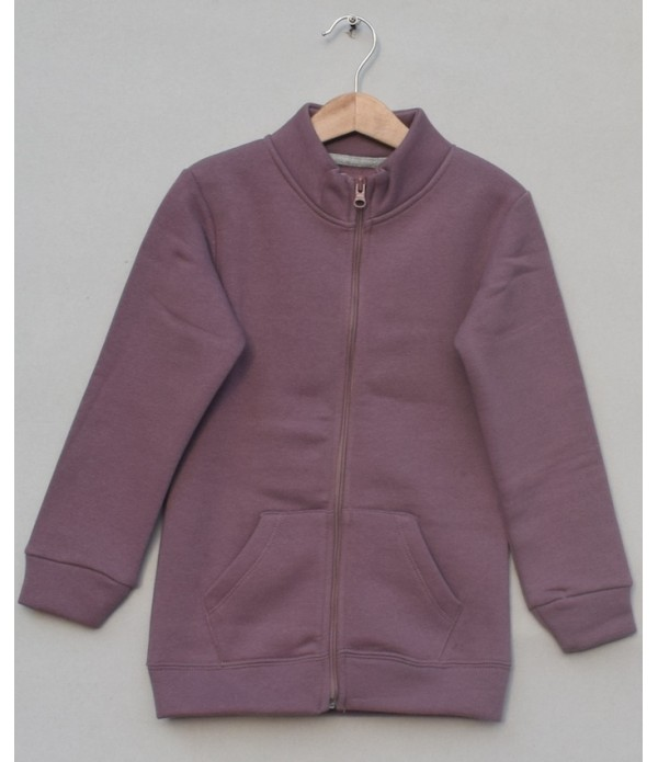 Fleece Zipper Jacket (W18B68)