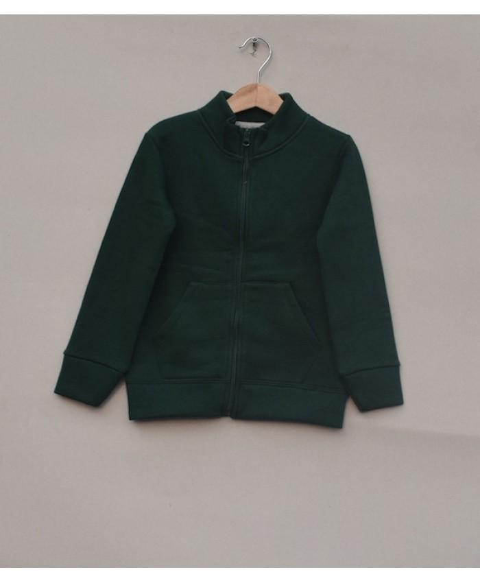 Fleece Zipper Jacket (W18B74)