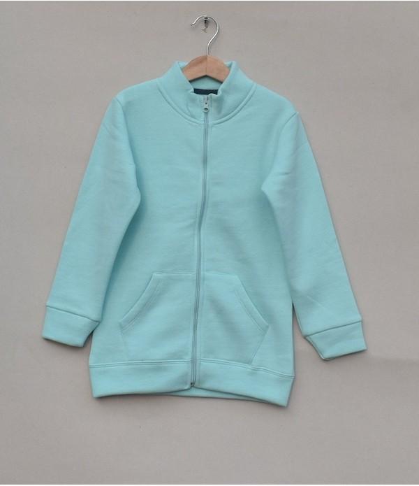 Fleece Zipper Jacket (W18B69)