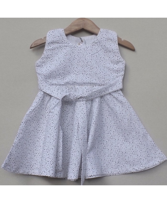 Baby Girls cotton Frock (W18F04)