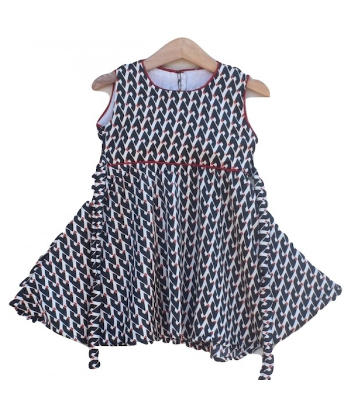 Baby Girls cotton Frock (W18F14)