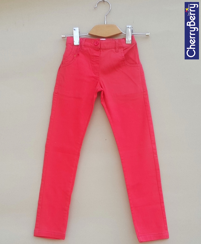 Girls cotton Trouser  (S14T17)