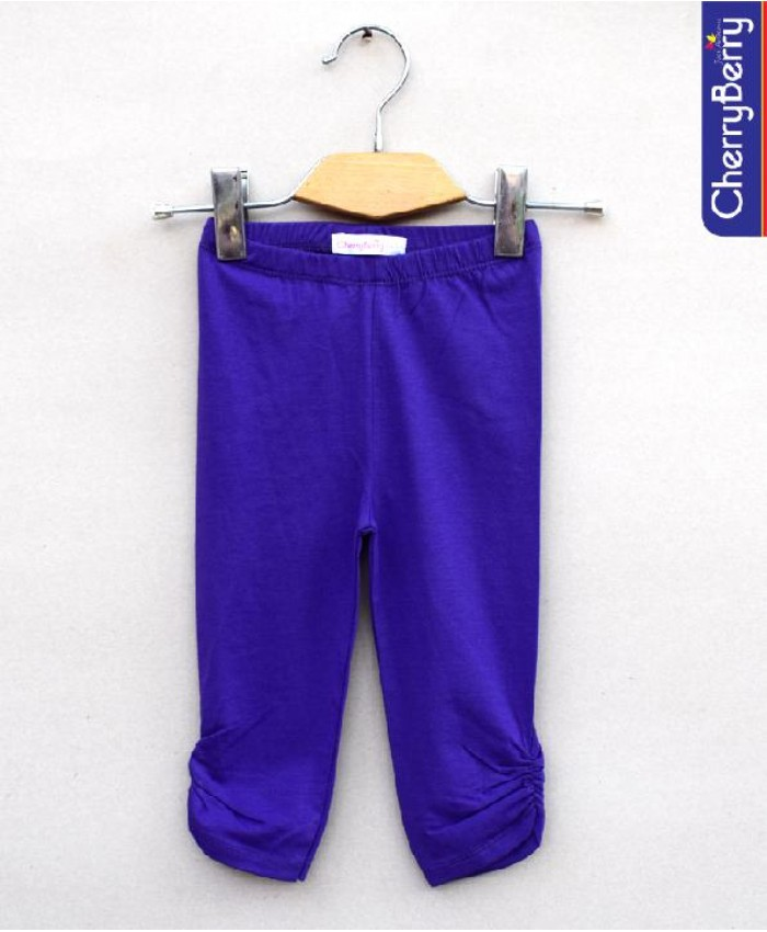 baby girls purple Tights
