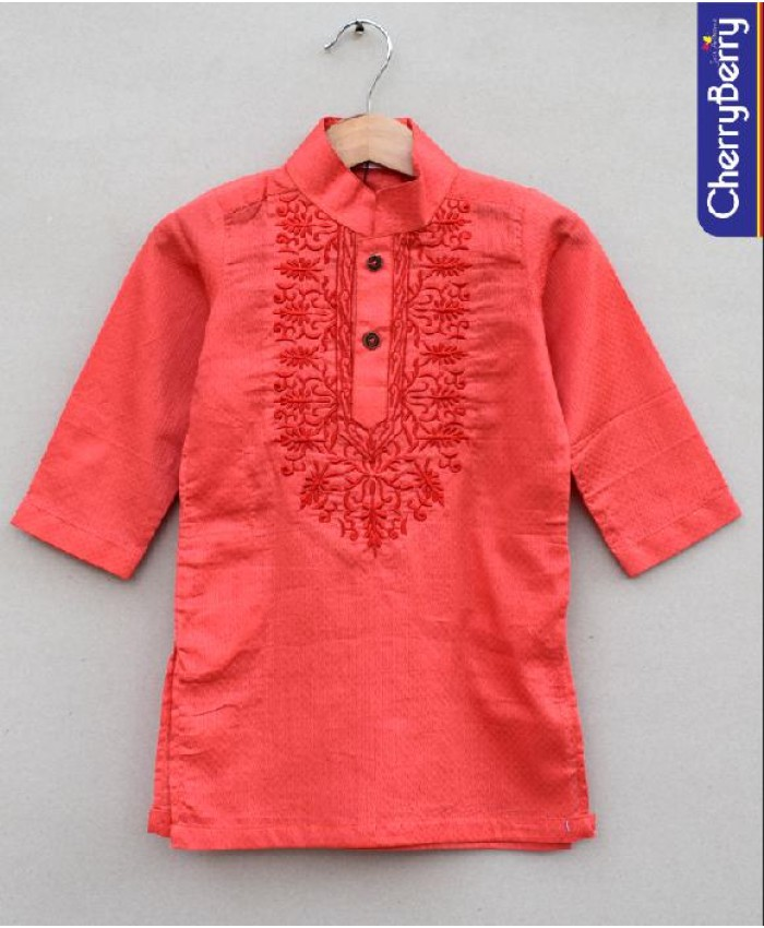 Boys embellished Kurta