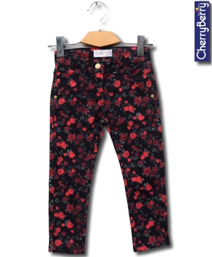 Girls Printed Trouser