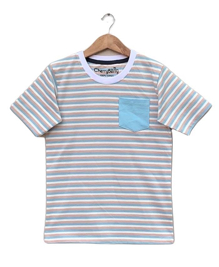 strips Pocket T-shirt
