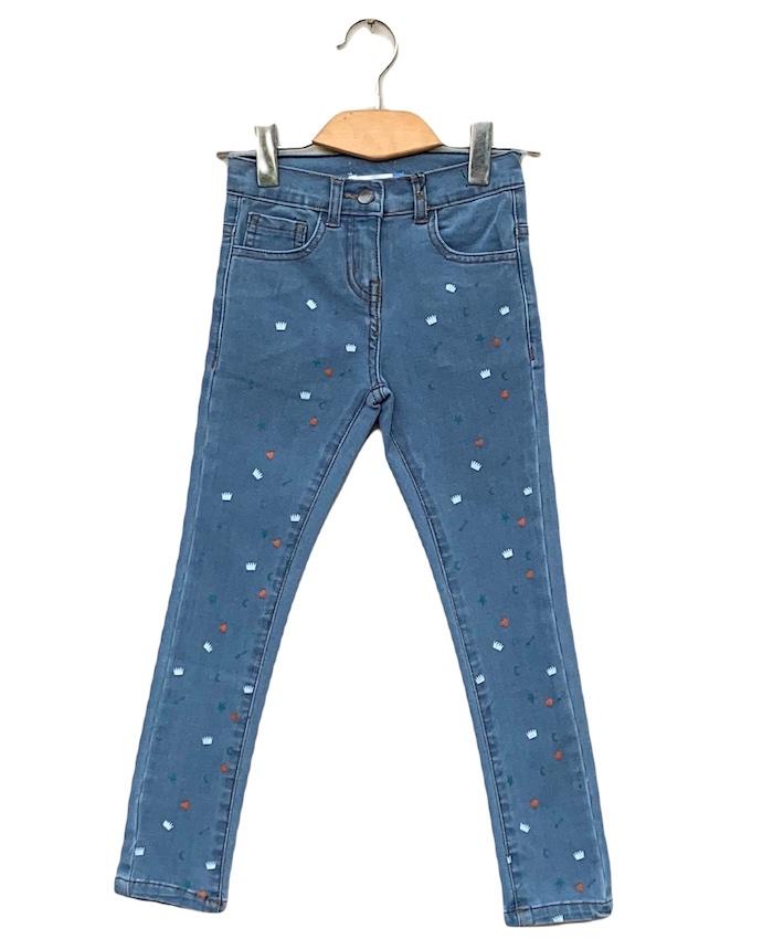 Denim printed Jeans