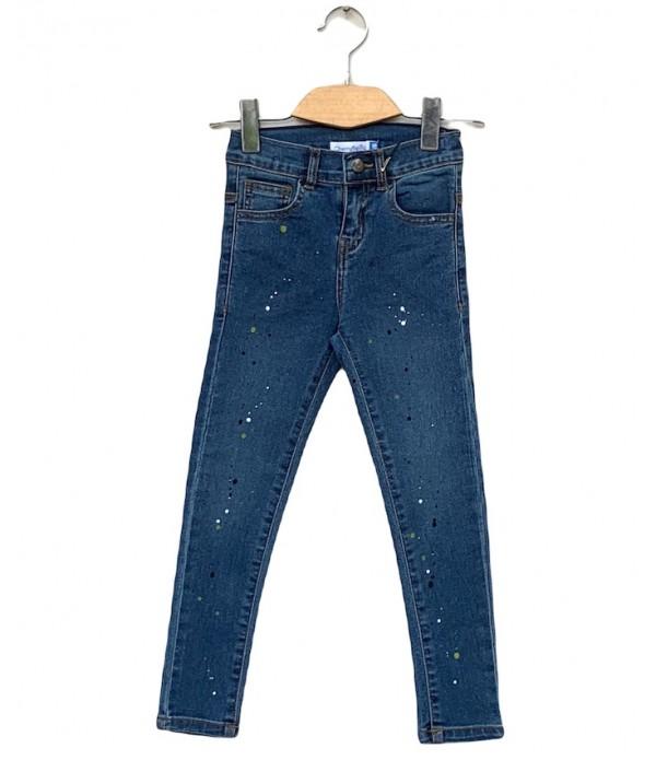 Girls Denim printed Jeans