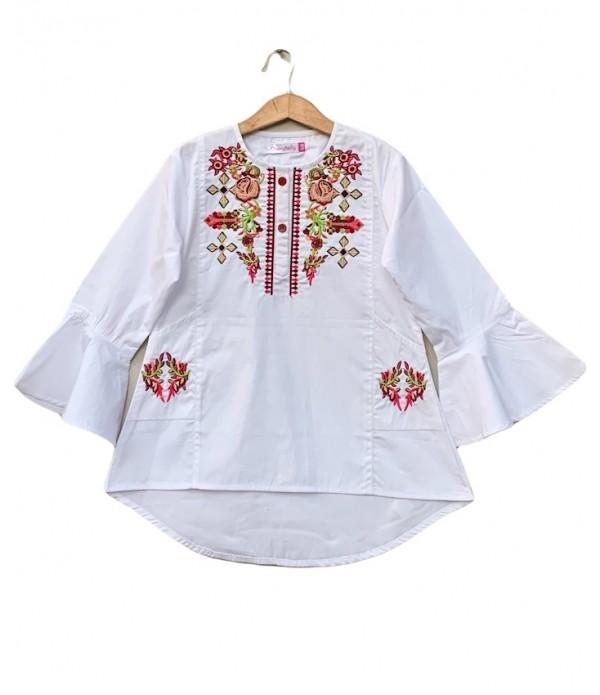 cotton Embroider dress