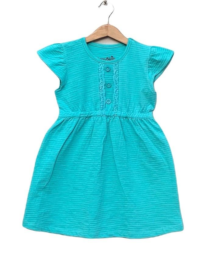 Lace strips Dress