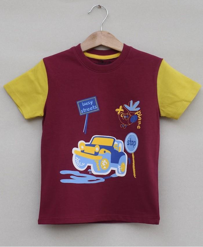 Baby boys printed T-shirt (S19B02)