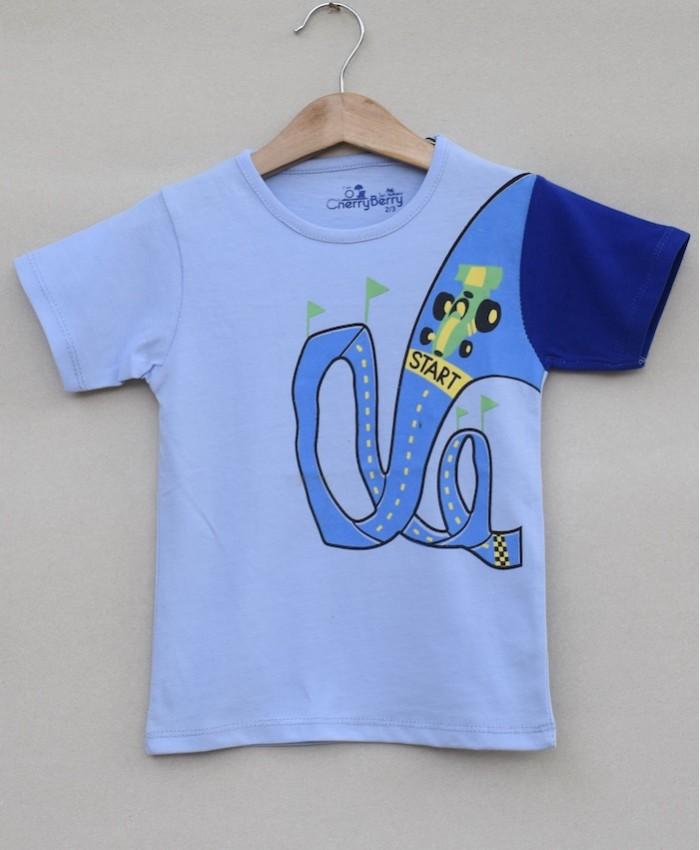 Baby boys printed T-shirt (S19B03)