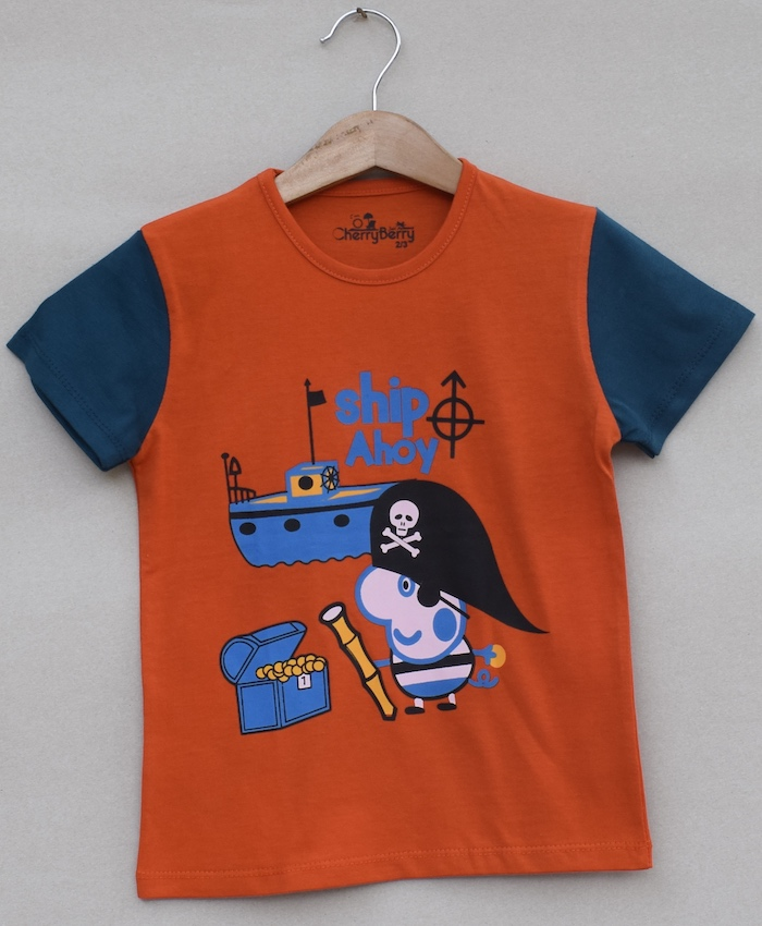 Baby boys printed T-shirt (S19B05)