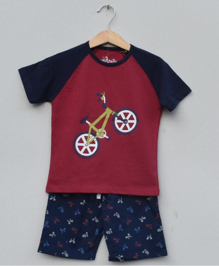 Baby Boys printed T-shirt set