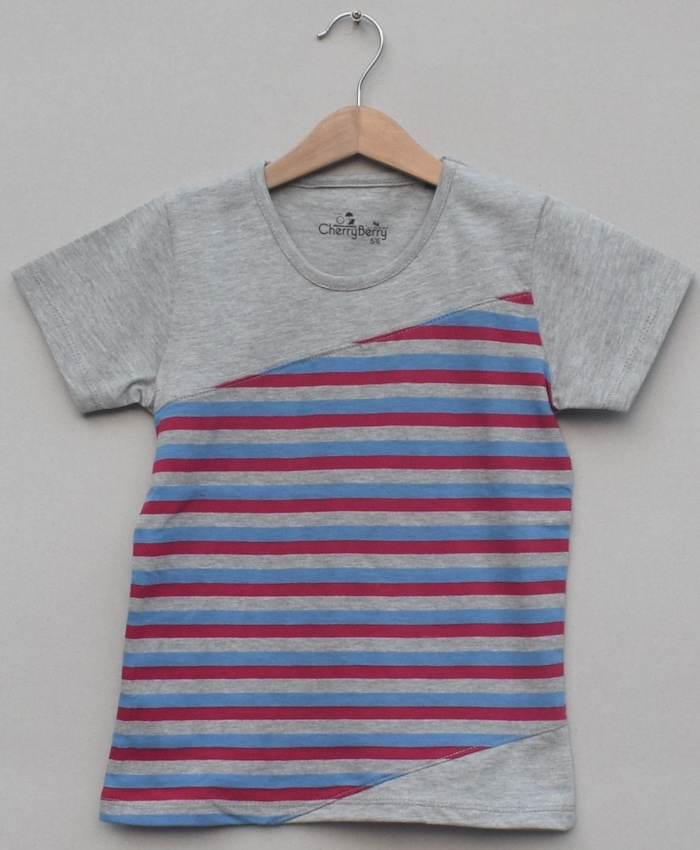 Boys printed T-shirt (S19B17)