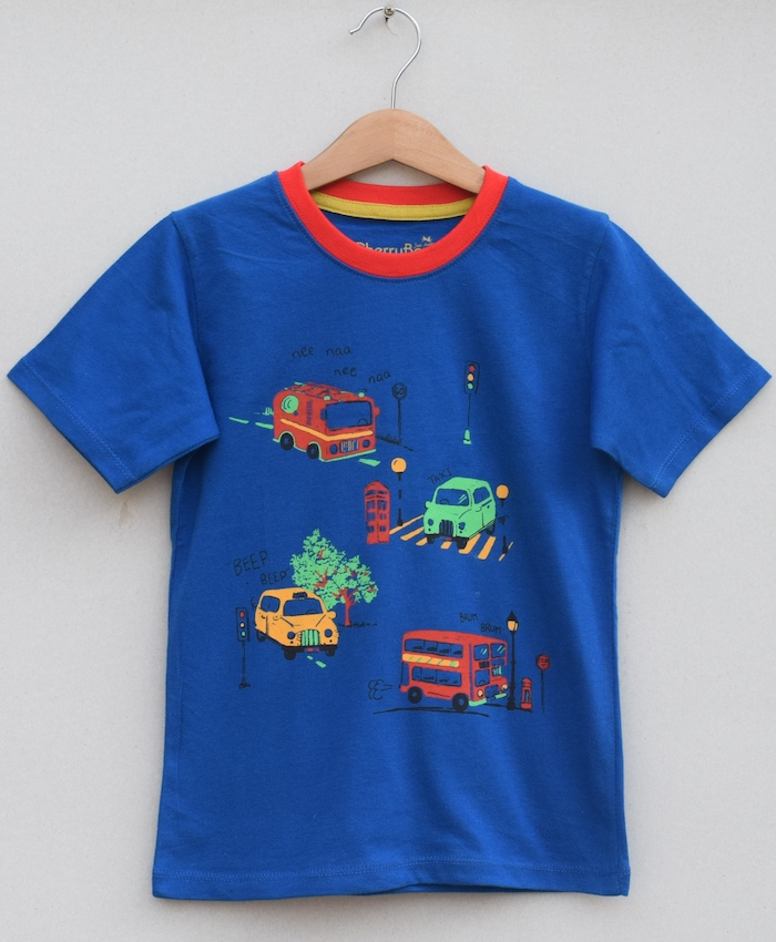 Boys printed T-shirt (S19B55)