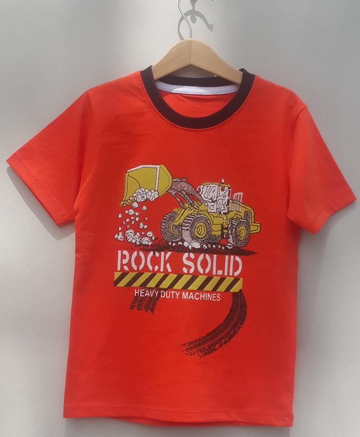 Boys printed T-shirt (S19B70)