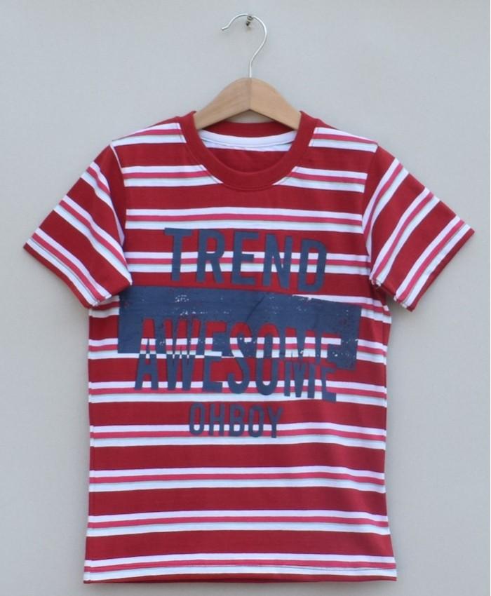Baby boys printed T-shirt (S19B76)