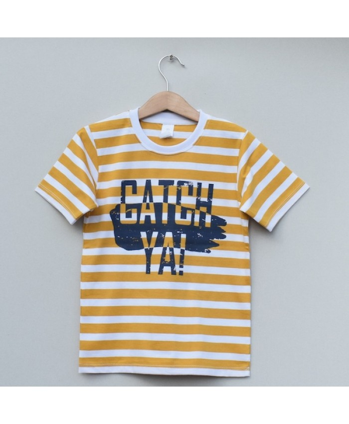 Boys printed T-shirt (S19B77)