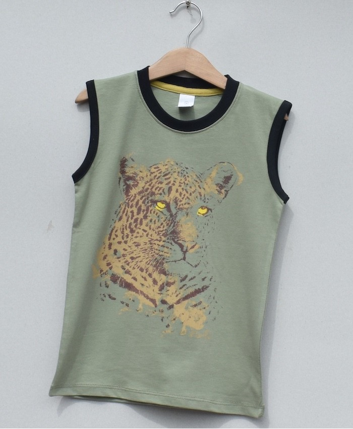 boys printed T-shirt (S19B80)