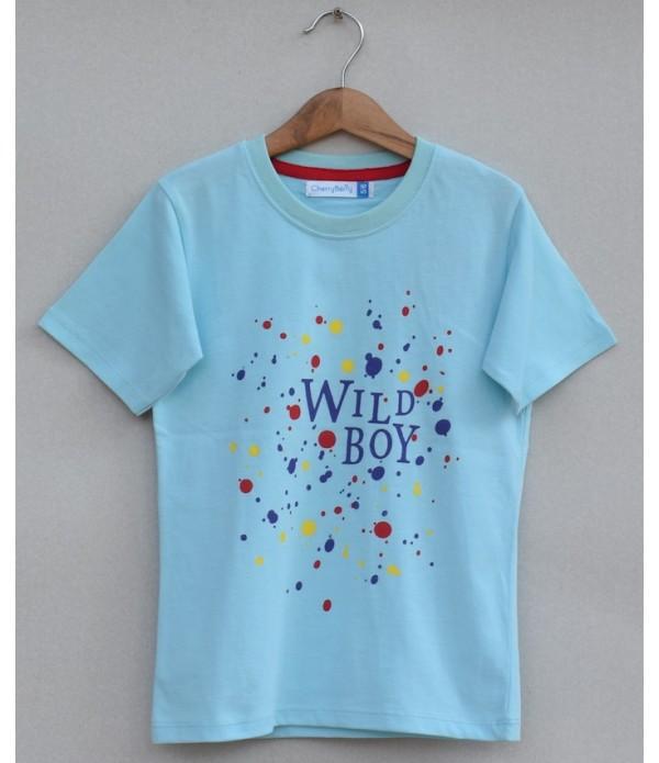 boys printed T-shirt (S19B85)