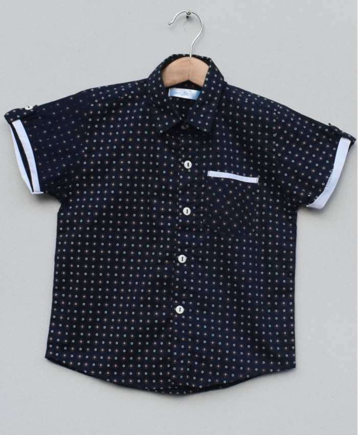 Boys Cotton Shirt (S19S07)
