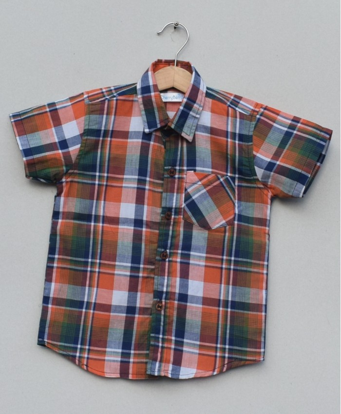Boys Cotton Shirt (S19S09)