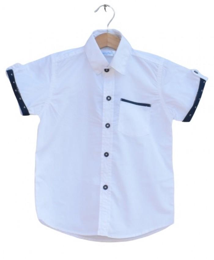 Boys Cotton  pocket Shirt
