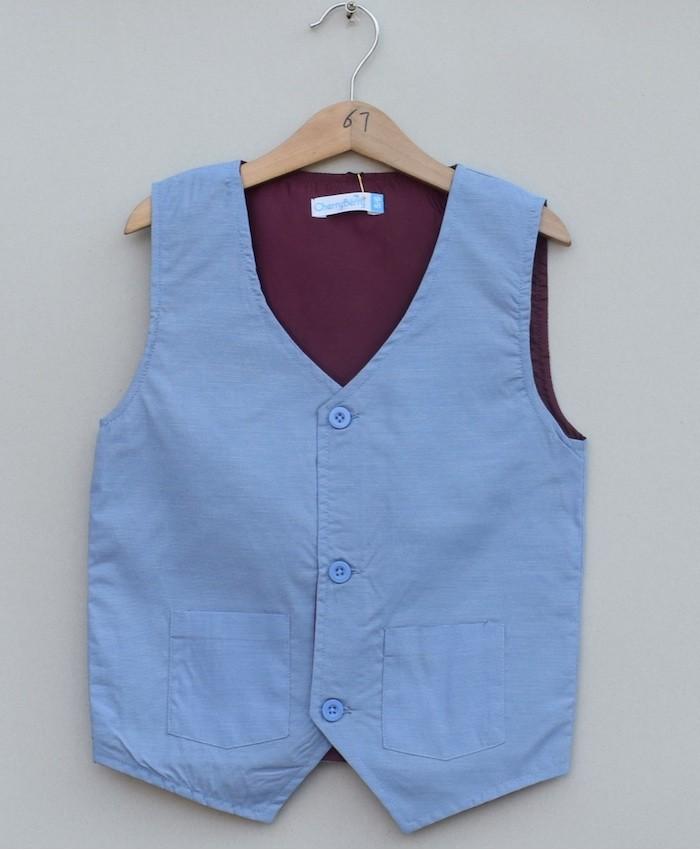 Boys Cotton waistcoat (S19S12)