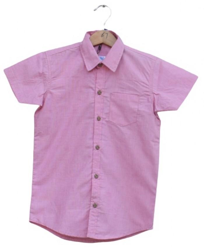 Boys Cotton pink Shirt