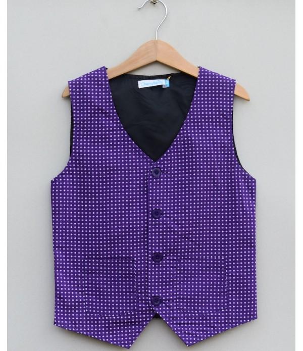 Boys Cotton waistcoat
