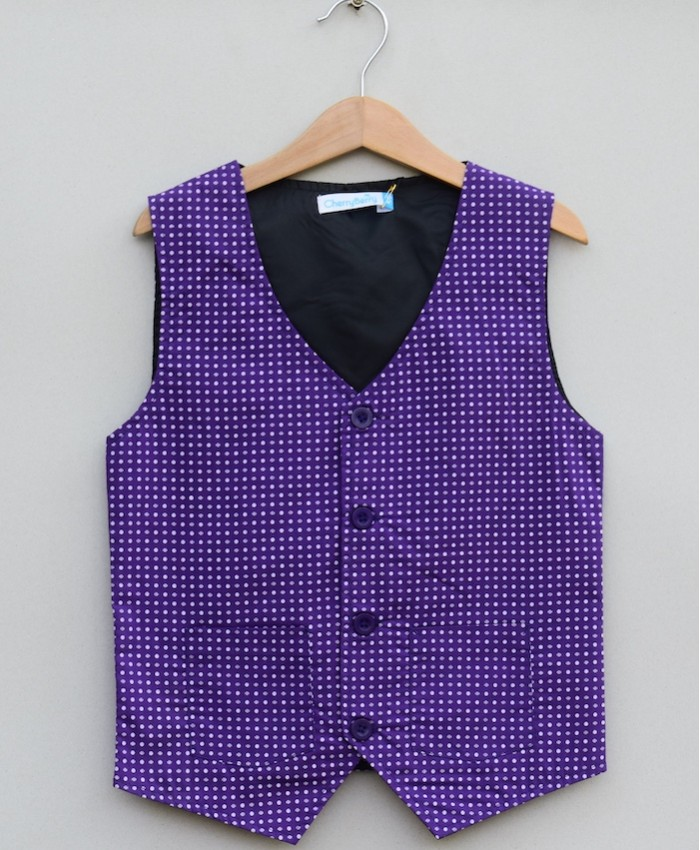 Boys Cotton waistcoat (S19S16)