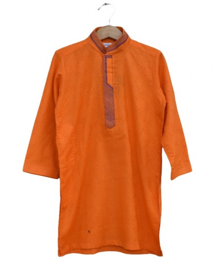 Boys orange Kurta