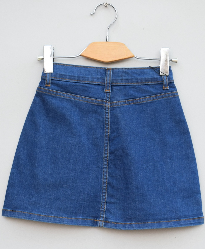Baby Girls stretch Denim skirt