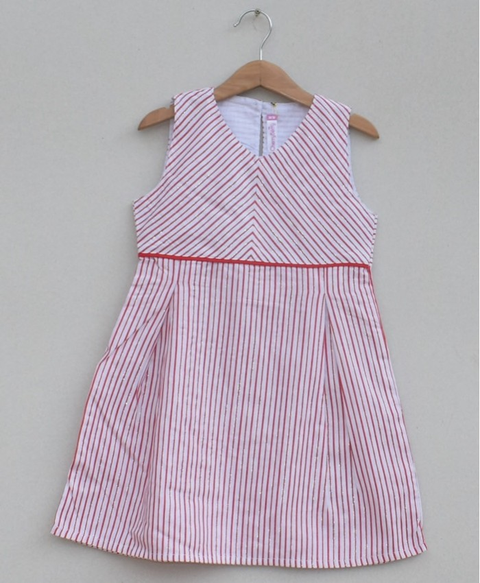 Girls Printed cotton Frock (S19F05)