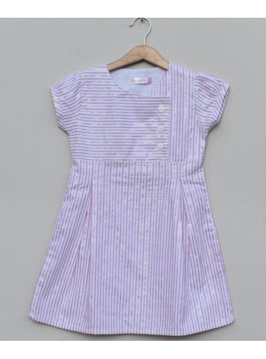 Girls Printed cotton Frock (S19F11)