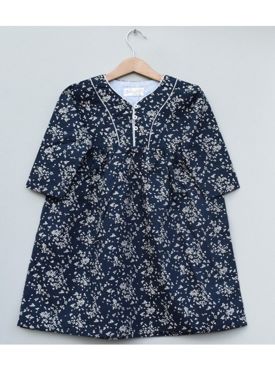 Girls Printed cotton Top (S19F19)