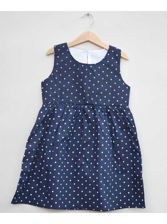 Girls Printed cotton Frock (S19F29)