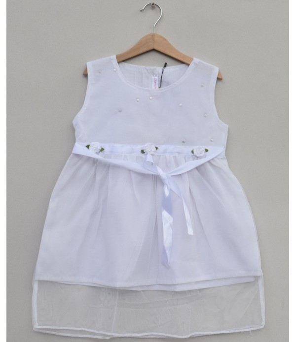 Girls Printed cotton Frock (S19F39)
